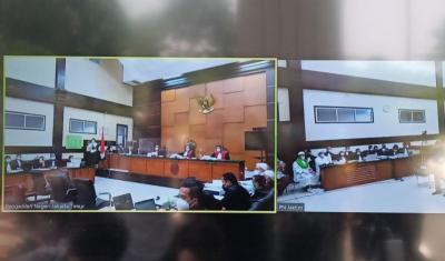 Sidang Habib Rizieq Terkait Tes Swab RS Ummi Dilanjutkan pada 21 April