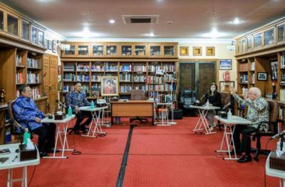 Sambangi Cikeas, Dubes Australia Pamit ke SBY Sebelum Pulang ke Negaranya