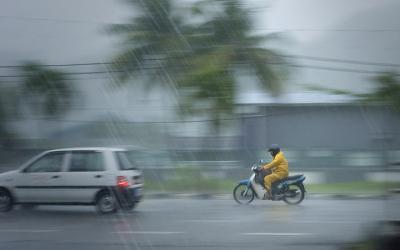 Hujan Es Terjadi di 4 Kecamatan Kota Bekasi