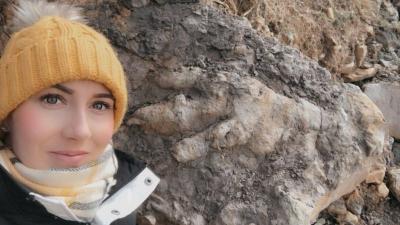 Jejak Kaki Dinosaurus Pemakan Daging Ditemukan di Pantai