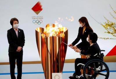 Kirab Obor Olimpiade di Osaka berlangsung Tanpa Penonton