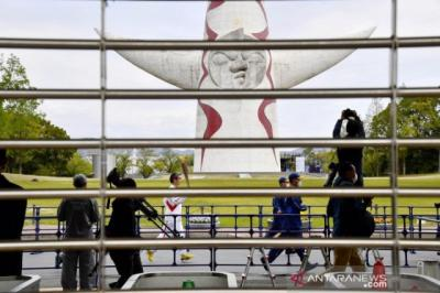 Kirab Obor Olimpiade Tokyo Dibatalkan karena Kasus Covid-19 Naik