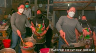 Lestarikan Kuliner Indonesia, Puan Maharani Santap Nasi Godog Khas Magelang