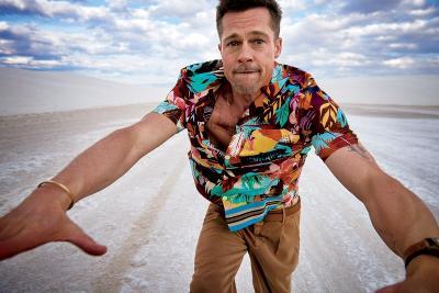 Brad Pitt Terciduk Tinggalkan Rumah Sakit Pakai Kursi Roda, Ada Apa?