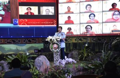 Panglima TNI: Dharma Pertiwi Lewati Perjalanan Panjang Sarat dengan Pengabdian