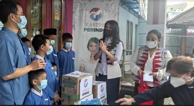 Kartini Perindo Tutup Rangkaian HUT Ke-5 di Panti Yatim Indonesia Ciranjang