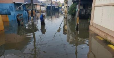 Banjir Bekasi Mulai Surut, Sisa Dua Titik dengan Kedalaman 30 Cm