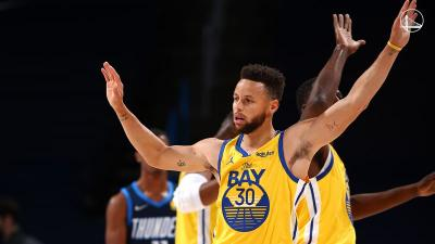 Hasil NBA 2020-2021 Hari Ini: Stephen Curry Bantu Golden State Warriors Bangkit