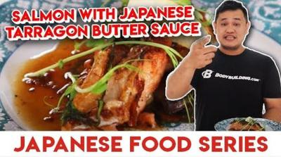 Resep Berbuka Masakan Jepang, Salmon Japanese Tarragon Butter Sauce ala Juara MasterChef