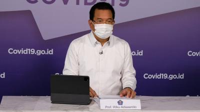 Jumlah Kesembuhan Pasien Covid-19 di Indonesia Tembus 90,4 Persen, Prof Wiku: Harus Dipertahankan