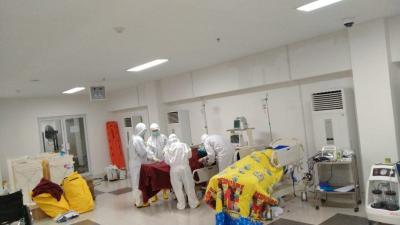 Penanggulangan Covid-19, Pemprov DKI Jakarta Tambah Fasilitas Kesehatan RS meski Keterisian Turun