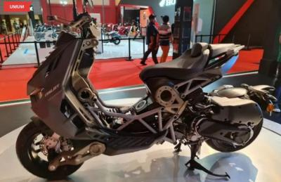 Motor Italjet Dragster Diperkenalkan di Ajang IIMS Hybrid 2021