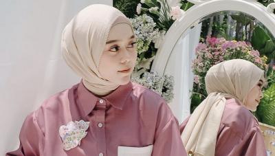 4 Gaya Hijab Lesti Kejora, Bisa Jadi Inspirasi Outfit Ramadhan dan Lebaran