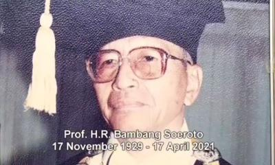 Kabar Duka, Pendiri UPN Veteran Yogyakarta Bambang Soeroto Meninggal Dunia