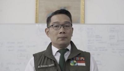 Usai Istri Terkonfirmasi Positif Covid-19, Ridwan Kamil Jalani Tes Usap PCR