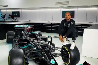Hasil Kualifikasi F1 GP Emilia Romagna 2021: Lewis Hamilton Amankan Pole Position