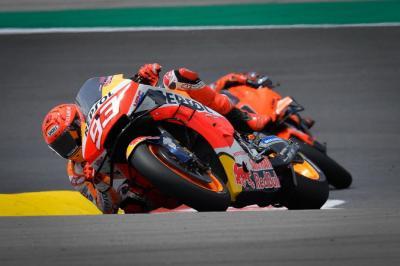 Alami Penurunan Performa di Latihan Bebas MotoGP Portugal, Marc Marquez: Saya Lelah!