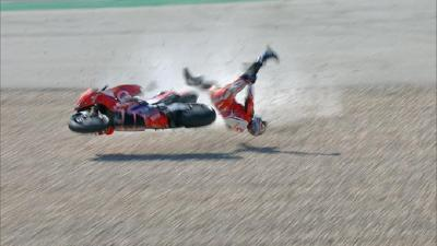 Kecelakaan di Latihan Bebas 3 MotoGP Portugal, Jorge Martin Dilarikan ke Rumah Sakit