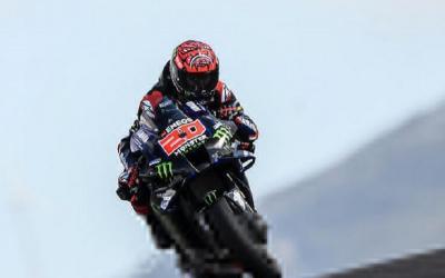 Hasil Latihan Bebas 4 MotoGP Portugal 2021: Quartararo Menggila, Valentino Rossi Masih Memble
