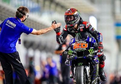 Hasil Kualifikasi MotoGP Portugal 2021: Quartararo Start Terdepan, Marc Marquez Urutan 6