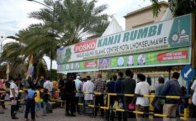 Mau Bubur Kanji Rumbi Gratis Selama Ramadan? Datang ke Masjid Agung Ini