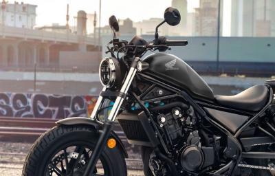 Honda Rebel Warna Baru Mejeng di IIMS Hybrid 2021