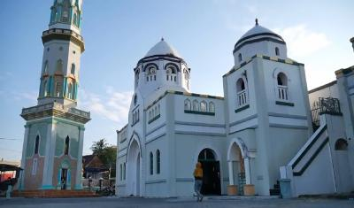 Masjid Jami Al Muhajiri Mempunyai 25 Kubah Kecil sebagai Tanda Jumlah Nabi dan Rasul