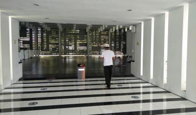 Menikmati Kesejukan Green Mosque Karya Ridwan Kamil di Padalarang