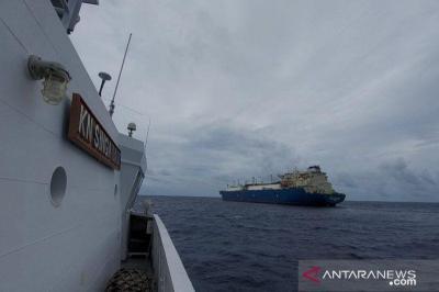 Bakamla RI Peringatkan Kapal Yunani yang Mondar-mandir di Perarian Maluku