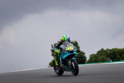 Start Ke-17, Valentino Rossi Khawatir dengan Kiprahnya di MotoGP Portugal 2021