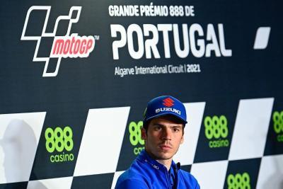 Meski Awali Balapan MotoGP Portugal dari Baris Ketiga, Joan Mir Tetap Pede Podium