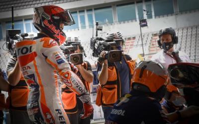 MotoGP Portugal 2021, Marc Marquez Tak Masuk Hitungan Morbidelli