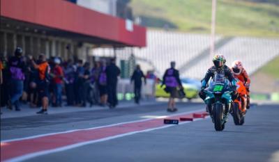 Start Kelima di MotoGP Portugal 2021, Morbidelli Akui Motor Yamaha Sudah Lebih Baik