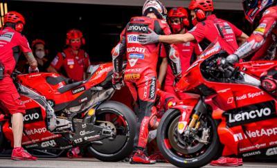 Hasil Sesi Pemanasan MotoGP Portugal 2021: Jack Miller Terdepan, Valentino Rossi dan Marc Marquez Tercecer