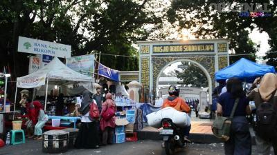 Masjid Sunda Kelapa, Tempat Berburu Takjil hingga Tarawih Berjamaah