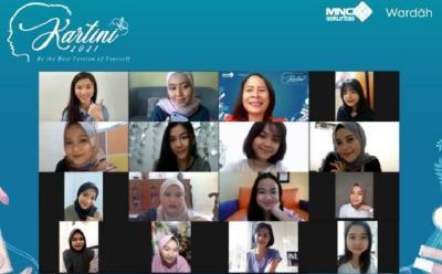 Sambut Hari Kartini, MNC Sekuritas x Wardah Gelar Kelas Makeup Virtual