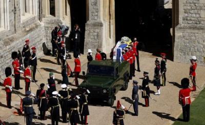Absen di Pemakaman Pangeran Philip, Meghan Markle Menonton dari Rumah