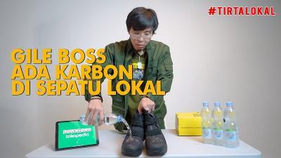 Intip dr Tirta Review Sepatu Perang Rp3,5 Juta, Gak Tembus Air!