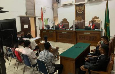 Terdakwa Kasus Kebakaran Kejagung Dituntut 1,5 Tahun Penjara