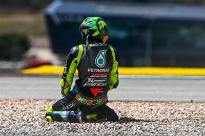 Valentino Rossi Bingung dengan Penyebab Dirinya Crash di MotoGP Portugal 2021