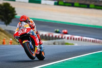 MotoGP Portugal 2021 Berakhir Manis untuk Marc Marquez
