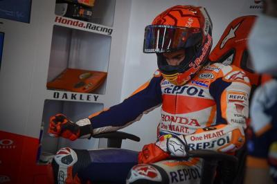 Rasa Takut Sempat Hinggapi Marc Marquez di MotoGP Portugal 2021