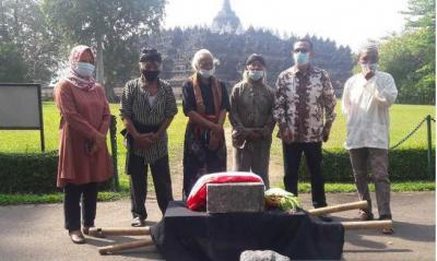 Masyarakat Serahkan Artefak Batu Dukung Pelestarian Candi Borobudur