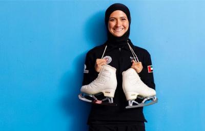 Zahra Lari Berharap Adanya Kesetaraan Berhijab di Arena Ice Skating