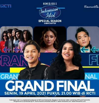 Saksikan Malam Ini! Grand Final Indonesian Idol Hadirkan Special Collaboration Mark dan Rimar dengan Musisi Terbaik Indonesia