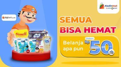 Jalani Puasa Ramadan, Lebih Praktis dengan Belanja di AladinMall!