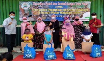 Berkah Ramadhan, Ada Komunitas Kecanduan Sedekah di Surabaya