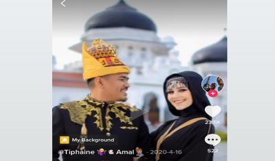 Model Cantik Asal Perancis Ini Pilih Mualaf dan Menikahi Pria Aceh