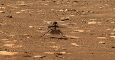 Diabadikan Rover Perseverance, Helikopter Terbang di Mars untuk Pertama Kali