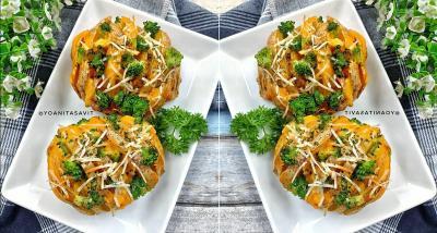 Resep Baked Potato Cheese untuk Santap Sahur, Lezat dan Bergizi